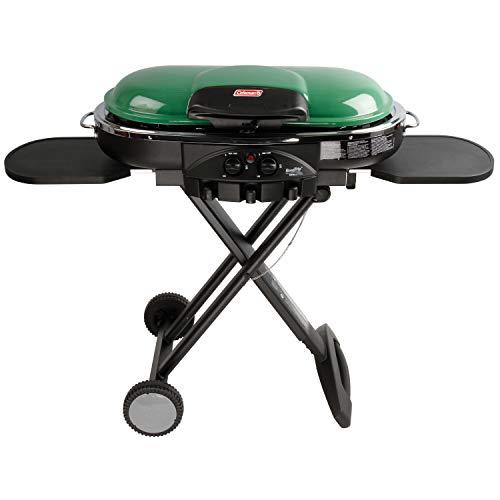 Coleman RoadTrip LXE Portable Propane Grill, Green