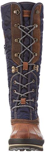 Napapijri Greta, Botines para Mujer Multicolor - Mehrfarbig (Dark Blue N67)