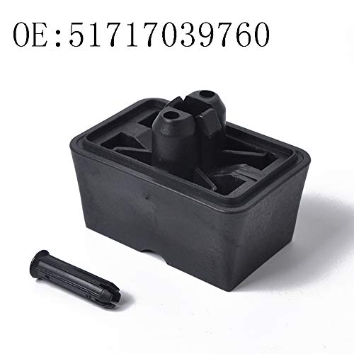 HsgbvictS Jack Support Pad Car Interior Parts Key Cover Jack Point Jacking Support Plug Lift Block for BMW 6 7 Series E63 E64 MINI Coupe