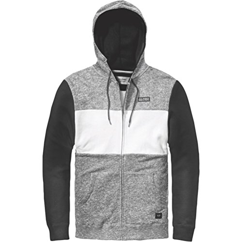 Globe Mens Hoodie (Globe Journey III Zip Hoody X Large Grey Marl)