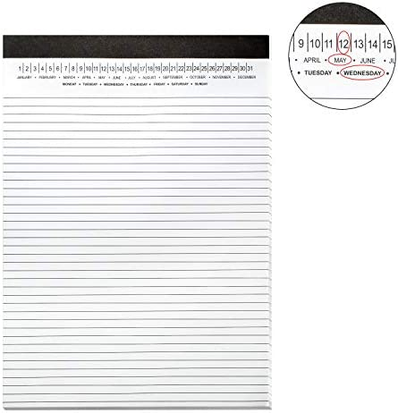 Legal Date Write Paper Sheets