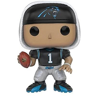Funko POP NFL: Wave 3 - Cam Newton Action Figure: Artist Not Provided: Toys & Games
