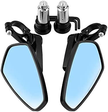 Espejo de bicicleta Juego de espejos de lente de vidrio for ...