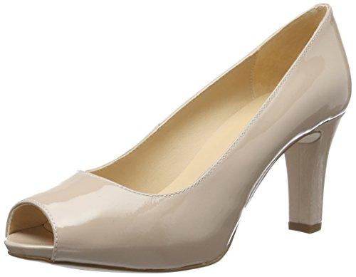 Unisa Nazo_17_pa, Zapatos de Punta Descubierta para Mujer Rosa (Ballet)