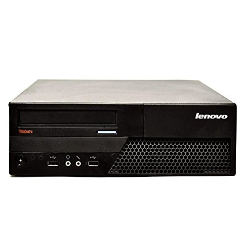 2018 Lenovo ThinkCentre M82 Small Form Factor Business Desktop Computer, Intel Quad-Core i5-3470 2.9GHz Processor, 16GB RAM, 2TB HDD, DVD, Windows 10 Professional (Certified Refurbished) by Lenovo