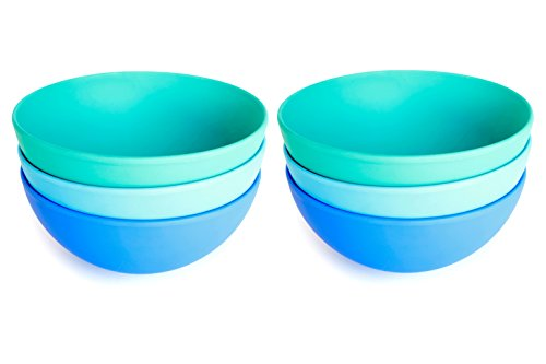 Aquaterra Living Ecofriendly Cereal Bowl Set- Set of 6, 5