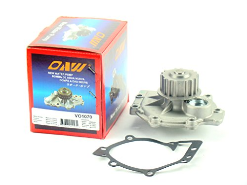 OAW VO1080 Engine Water Pump for Volvo 1.9L TURBO, 2.3L TURBO, 2.5L TURBO & 2.4L 1992 - (Volvo Turbo Engines)