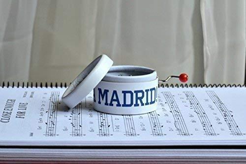 Caja de música ¡¡¡HALA MADRID!!! El regalo perfecto para los ...