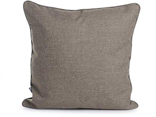 Funda para colchón de palé beige con cojín de respaldo a ...