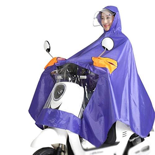 Mode Double Électrique Chapeau Dame Moto Battercake Unie Voiture Casual Couleur 5 Épaisse Poncho Extérieure Imperméable x05wSw1qHI