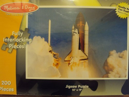 Melissa and Doug 200 Piece Space Shuttle -