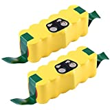 Fhybat 3500mAh Battery for iRobot Roomba R3 500 600 700 800 Series 14.4V Ni-MH (2Packs)