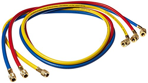 Yellow Jacket 22986 45 Degree SealRight Fitting, 72'', Red/Yellow/Blue (Pack of 3) by Yellow Jacket (Image #1)