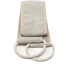 Aquis - Exfoliating Back Scrubber, Deep Clean & Invigorate Your Skin (4 x 30.75 Inches)