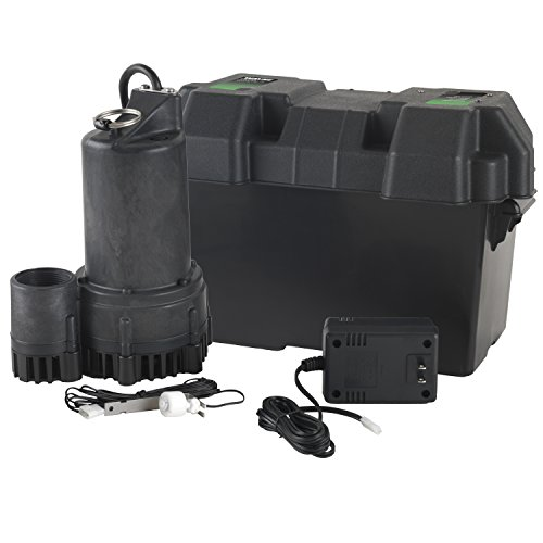 WAYNE ESP25 12 Volt Battery Back-Up Sump Pump System with Audible Alarm (Battery Sump Pump Backup compare prices)