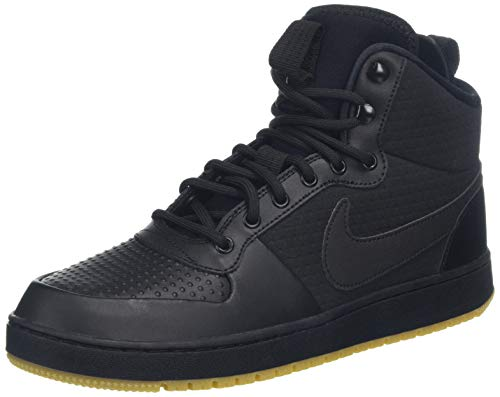 Winter Mid black gum Chaussures Basketball Ebernon Multicolore Brown black De Light Homme Nike 001 ESw454