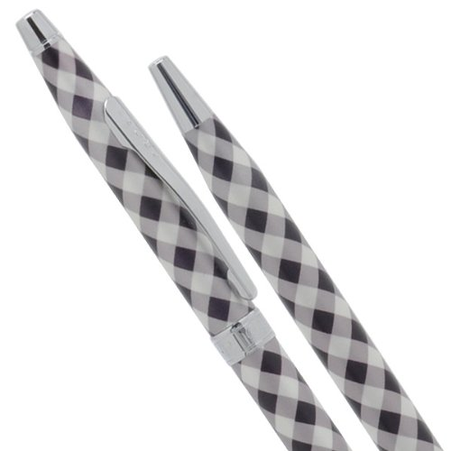 Cross Ballpoint Pen Century Colors Black Gingham