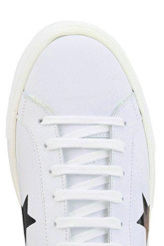 Redaktøren Dame Mcglcak03043e Weiss Leder Sneakers BN8K5r
