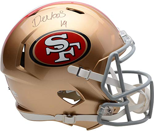 - Deebo Samuel San Francisco 49ers Autographed Riddell Speed Replica Helmet - Fanatics Authentic Certified