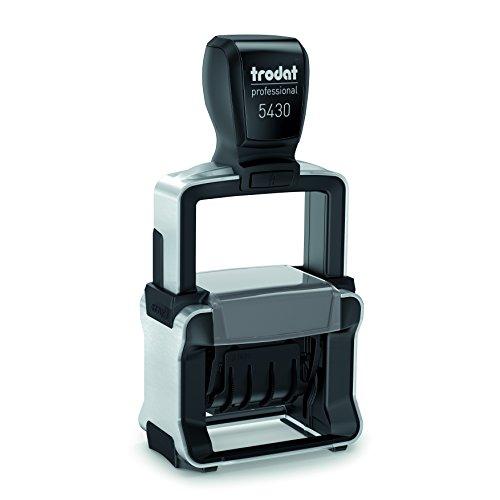 (Trodat 5430 Heavy Duty Dater, Military Date Format, 31 DEC 2018 , with interchangeable premade die)