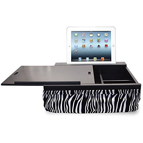 iCozy Portable Cushion Lap Desk With Storage - Zebra by iCozy (Image #2)
