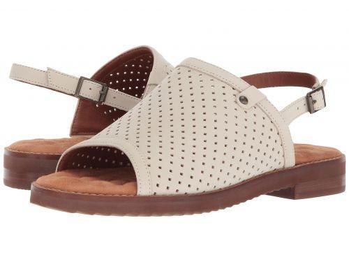 ピットクラシカル笑いWalking Cradles(ウォーキングクレイドル) レディース 女性用 シューズ 靴 サンダル Juliette - Bone Perfed Nubuck [並行輸入品]