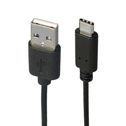 Link Depot USB-2-AC USB 2.0 Type-A Male to USB 3.1 Type-C Male Cable, 6'