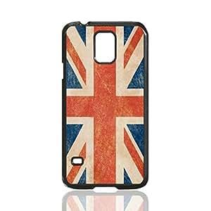 British Flag Custom Hard Plastic back Phones Case for Samsung Galaxy S5 I9600 - Galaxy S5 I9600 Case Cover
