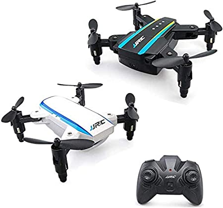 Aviones De Cuatro Ejes UAV Versión Aviones Bimotor De Retorno Plegable Con Un Solo Botón Del Mando A Distancia En El Mini Drone Móvil,Negro