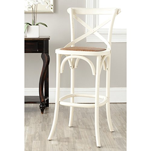 Safavieh American Homes Collection Franklin Ivory 30.7-inch Bar Stool For Sale