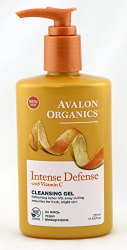 Avalon Organics, Vitamin C Renewal, Refreshing Cleansing Gel, 8.5 fl oz (251 ml) - 2pc