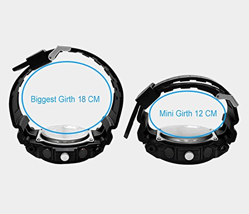 TOPCABIN Swim Chronograph-50m Waterproof Digital-analog Children Sport Watch with Alarm Stopwatch White