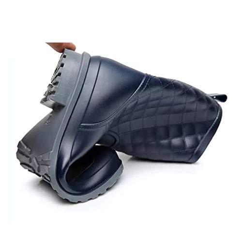 Hishoes Donna Stivali 1qu1prw Blau Gomma Tiefes Di ggrw0q