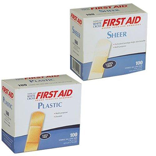 Adhesive Bandages, Plastic Strips, 1