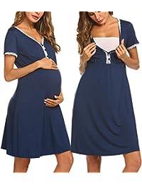 Maternity Nursing Sleep Shirts Nightgowns Amazoncom