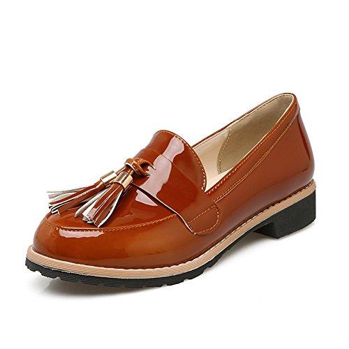 británica patentes zapatos viento bajo Lady de D estudiante de Viento retro Zapatos Instituto bajo moda tacón 4AqnnwXEx7