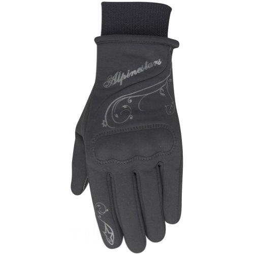 Alpinestars Stella C1 Windstopper Women's Waterproof Street Motorcycle Gloves - Black / Large