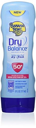 Banana Boat Sunscreen Dry Balance Broad Spectrum Sunscreen Lotion, SPF 50+ - 6 Ounce from Banana Boat