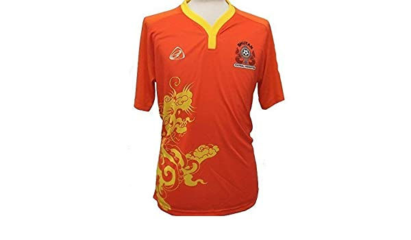 Ego Bhután Official Deporte casa Camiseta de fútbol 2015/16 ...