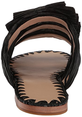 Voor De Layne Slide Sandaal Zwart Van Overwinningsvrouwen