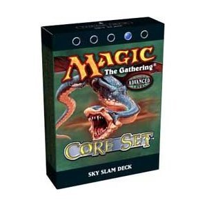 Magic the Gathering MTG 8th Edition Core Set Sky Slam Theme Deck by Wizards: Amazon.es: Juguetes y juegos