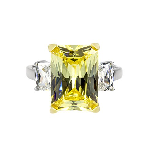 Montbeliard Canary Cocktail Ring - 9 (Canary Cocktail Ring)