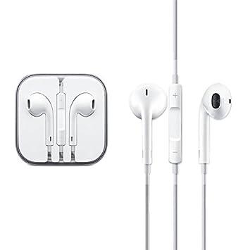 21ae0295e66 Apple OEM Auriculares, EarPod con micrófono y mando a distancia para iPhone,  iPod, iPad no-retail embalaje viene en Crystal - Carcasa rígida sólo: ...