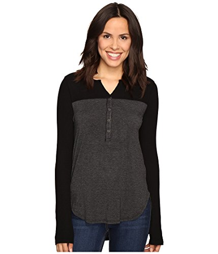 Splendid Womens Thermal Mixed Henley product image
