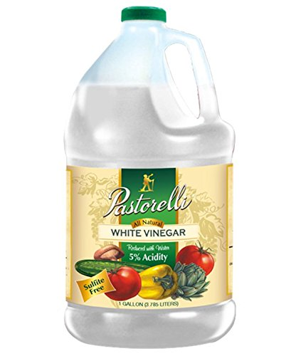Pastorelli White Vinegar, 128 Fluid Ounce (Pack of 4) by Pastorelli