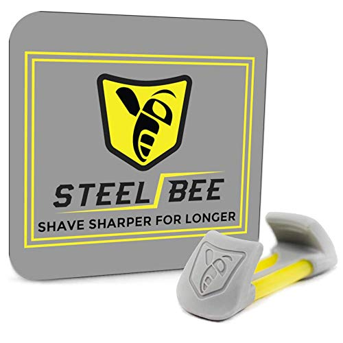 SteelBee Razor Saver | Anti-Rust Razor Cover | Blade Life-Extender | Travel Cartridge Protector | Corrosion-Preventing Attachment (2Pack)