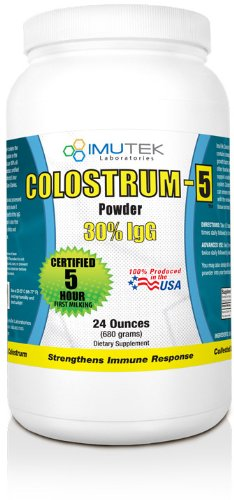 ImuTek Colostrum Powder, 24oz