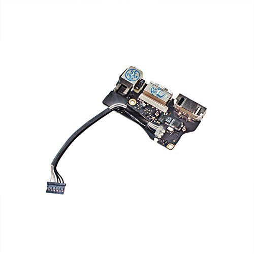 "Price comparison product image Gintai New DC-IN Power Jack I/O Board with USB Audio MagSafe 2 fit for Apple MacBook Air 13"" A1466 MD760 820-3455-A (Mid 2013, Early 2014)"