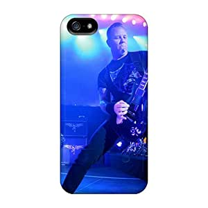 Apple Iphone 5/5s CeC10135PPBE Support Personal Customs Fashion James Hetfield Image Protector Hard Cell-phone Cases -NataliaKrause