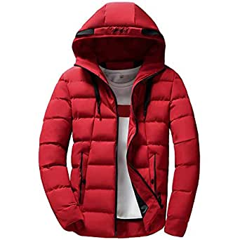 Clearance Forthery Men's Down Jacket Puffer Coat Thicken